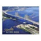 Postal Puente de Baytown, canal de la nave de Houston,