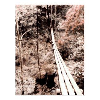 Postal puente de colgante
