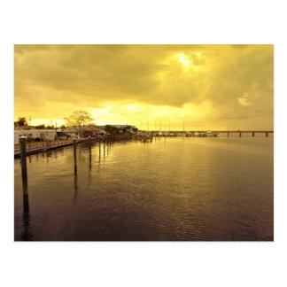 Postal Puente de Corte a la isla de Ana Maria