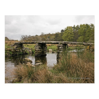 Postal Puente de la chapaleta en el parque nacional de