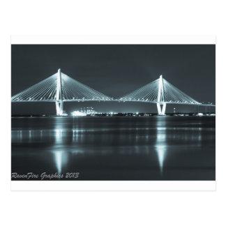 Postal Puente de la noche