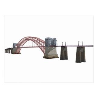 Postal Puente de la puerta del infierno: modelo 3D: