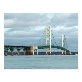 Postal Puente de Mackinac