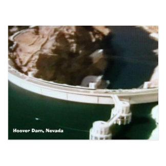 Postal puente-de--mundo 016, Preso Hoover, Nevada