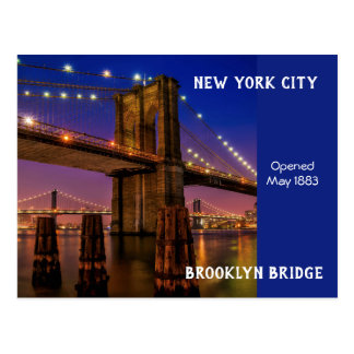 Postal Puente de New York City Brooklyn