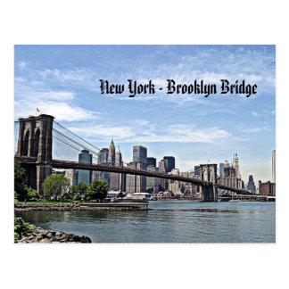 Postal Puente de Nueva York - de Brooklyn
