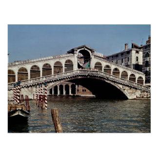 Postal Puente de Rialto, comenzado 1588