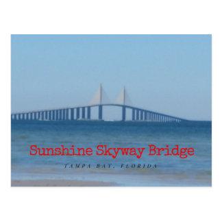Postal Puente de Skyway de la sol