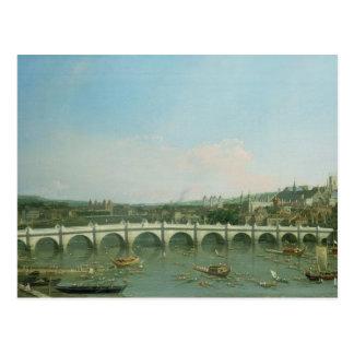 Postal Puente de Westminster del norte con Lambeth