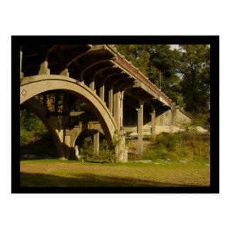 Postal Puente del parque de Piamonte