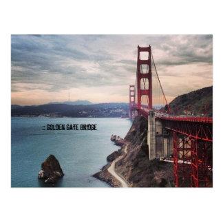 Postal Puente Golden Gate