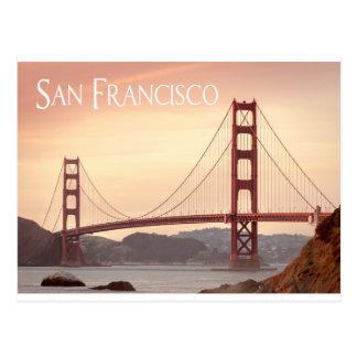 Postal Puente Golden Gate de San Francisco California,
