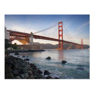 Postal Puente Golden Gate, San Francisco, California