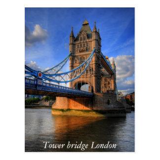 Postal Puente Londres de la torre