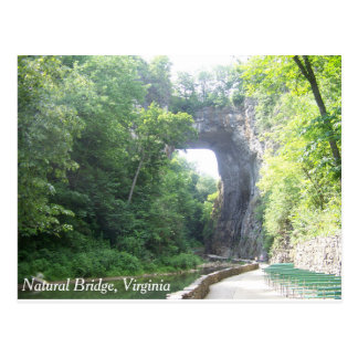 Postal Puente natural