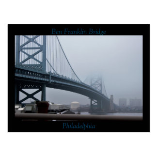 Postal Puente Philadelphia de Ben Franklin