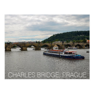 Postal Puente Praga de Charles