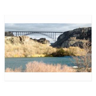Postal Puente sobre el río Snake