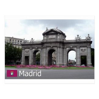 Postal Puerta de Alcalá, Madrid