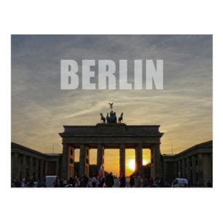 Postal Puerta de Brandeburgo, BERLÍN