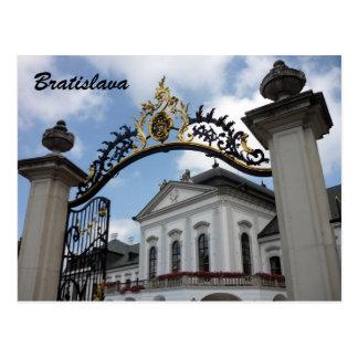 Postal puerta de Bratislava del grassalkovich