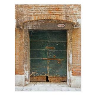 Postal Puerta de Burano