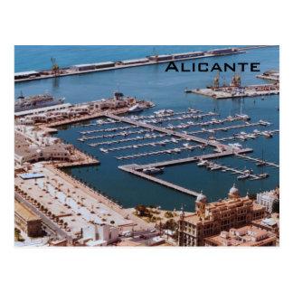 Postal Puerto de Alicante