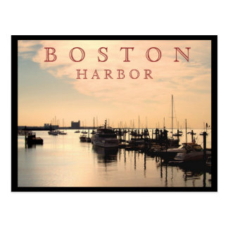 Postal Puerto de Boston