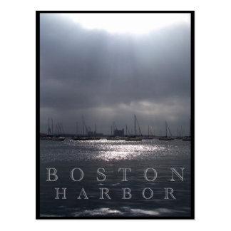 Postal Puerto de Boston