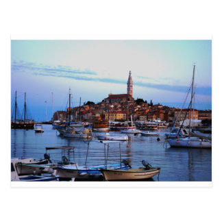 Postal Puerto de Rovinj, Croacia