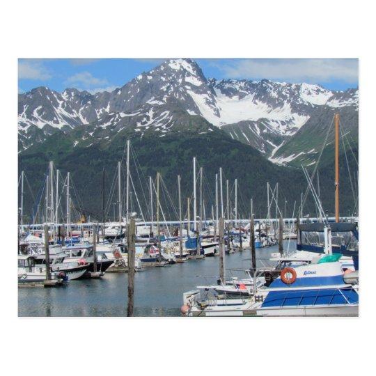 Postal Puerto de Seward, Alaska
