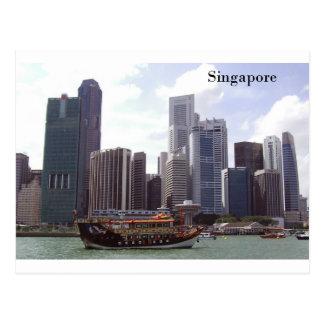 Postal Puerto de Singapur (por St.K)