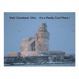 Postal Puerto helado de Cleveland