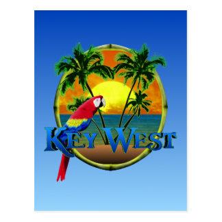Postal Puesta del sol de Key West