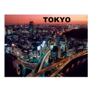 Postal Puesta del sol de Tokio Japón (St.K)