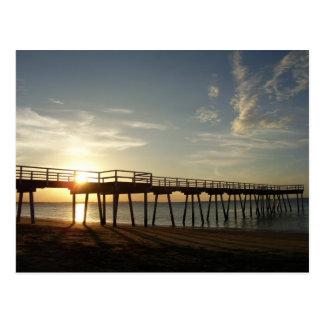 Postal Puesta del sol en la bahía de Hervey