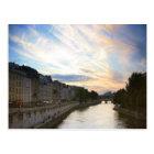 Postal Puesta del sol en París