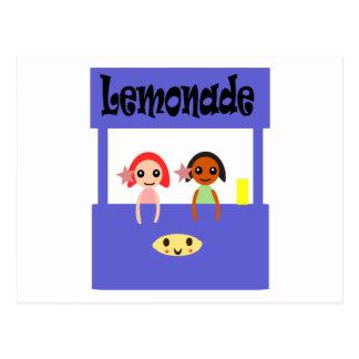 Postal Puesto de limonadas
