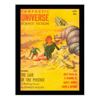 Postal Pulpa fantástica del universo v05 n03