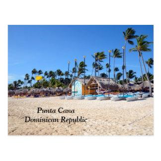 Postal Punta Cana en la República Dominicana