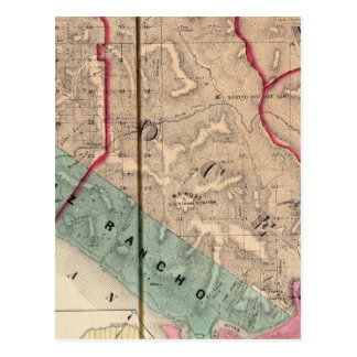Postal Punto de la sal, océano, Mendocino, secoya, Bodega