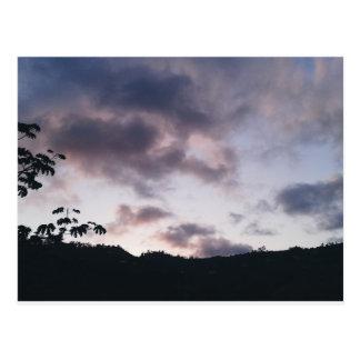 Postal Purple Landscape.