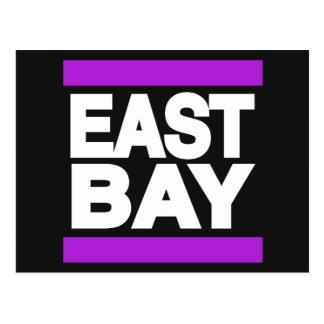 Postal Púrpura del este de la bahía