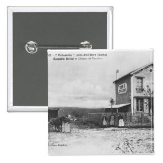 """Postal que representa un """"panorama"""" cerca de Anton Chapa Cuadrada 5 Cm"""