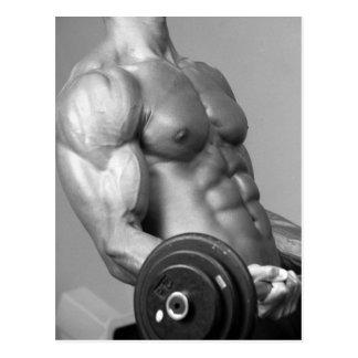 Postal que se encrespa #5 del bíceps