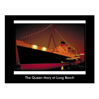 Postal Queen Mary en Long Beach