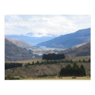 Postal Queenstown Nueva Zelanda