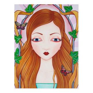 Postal Rapunzel