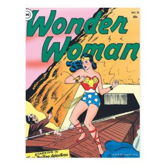 Postal Rastro invisible de la Mujer Maravilla