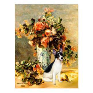 Postal Rata Terrier - florero